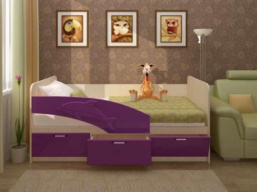 Детская кровать Дельфин 1,6 м