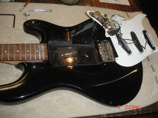 Мастер по ремонту электро и акустических гитар