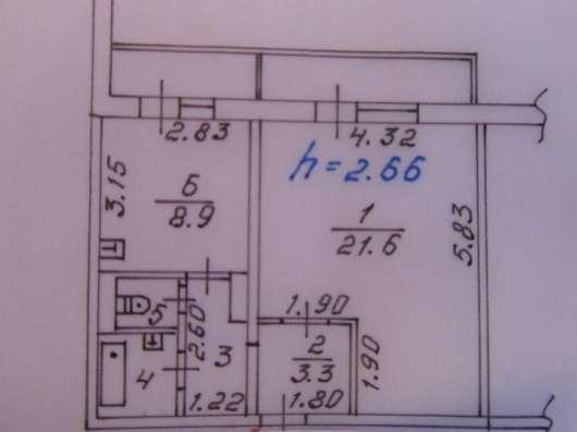 Продам 1-к. Судостроительная, д.131 14/16П 43/23/9 2 балкона