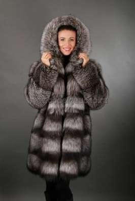 Полушубки, жакеты и меховые куртки из лисы и чернобурки