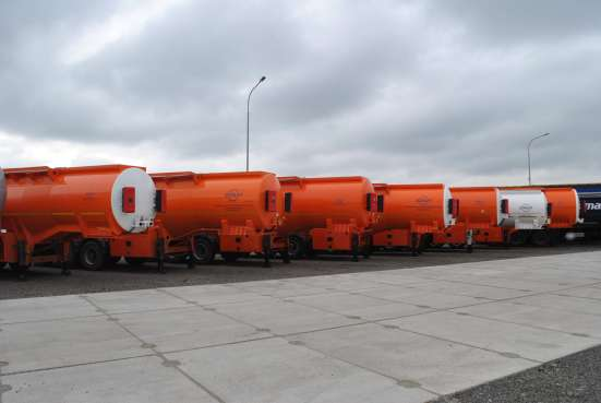 Полуприцеп БОНУМ цистерна бензовоз 28 м3 в Грозном Фото 3