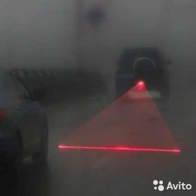 Задний лазерный противотуманный фонарь