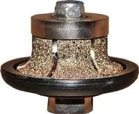 Профильная фреза Vacuum brazed A-20 SpSh2/65/20/М14 для обработки гранита/мрамора