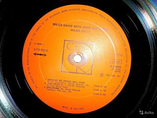 Пластинка виниловая Miles Davis With John Coltrane