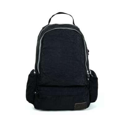 Рюкзак черный карманы по бокам