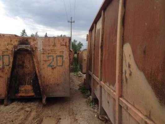 Мусорный контейнер для мультилифта 23м3