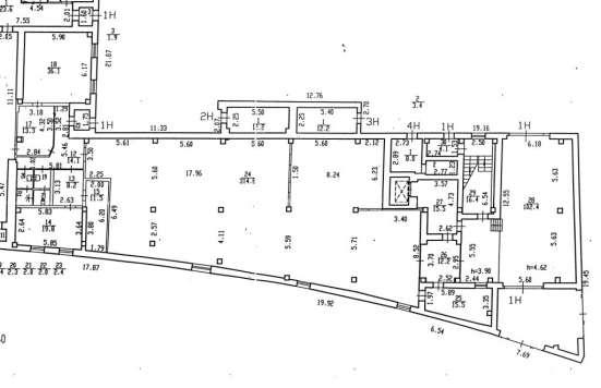 Сдам склад, мелкое производство, 550 кв. м, м. Бухарестская