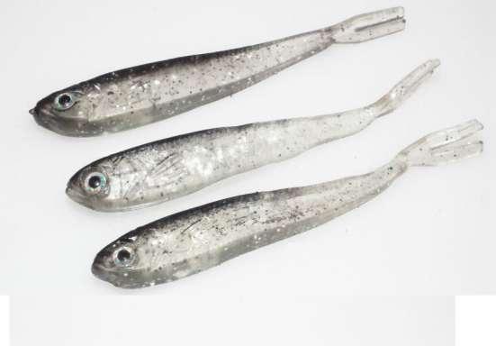 Силиконовые рыбки, 10шт
