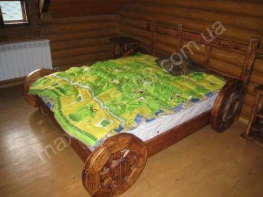 Мебель из массива сосны состаренная в Екатеринбурге Фото 4