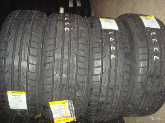 Новые шины dunlop 205/60 R15 Direzza
