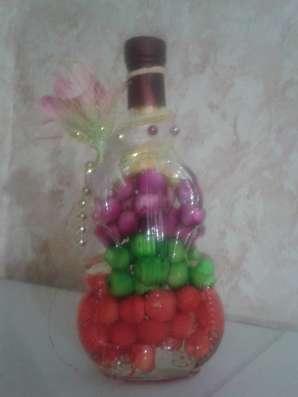 Украшение для кухни Декоративная бутылка Подставка держатель