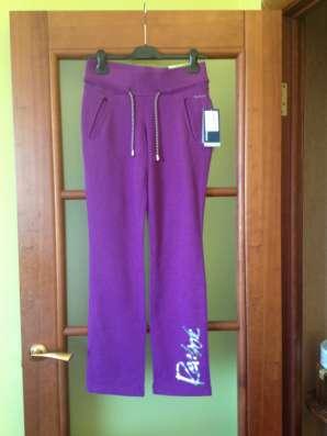 Спортивные штаны Reebok 42-44 размер дев. хлопок/эластан