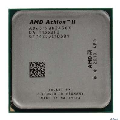 Процессор AMD Athlon II X4 631 (AD631XWNZ43GX)
