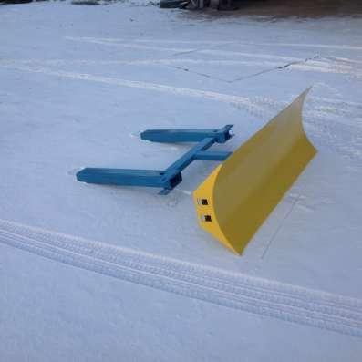 Отвал для уборки снега на твал дляуборки снега на погрузчик в Москве Фото 3