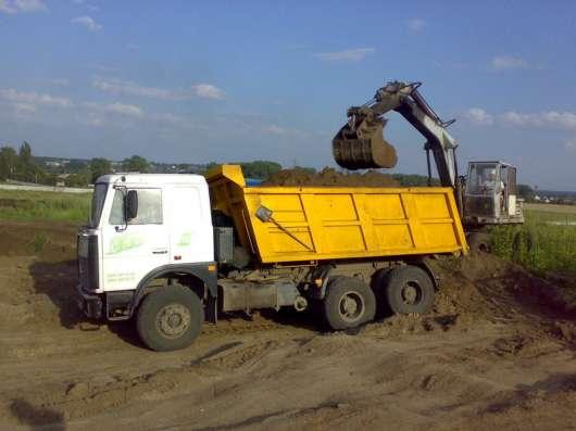 Грунт для выравнивания участков Киевское шоссе