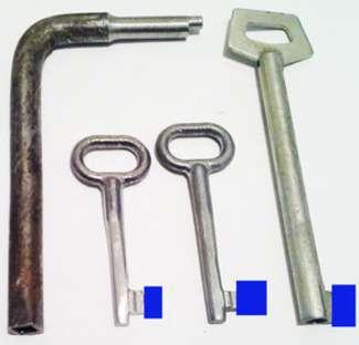 Ключи для почтовых ящиков