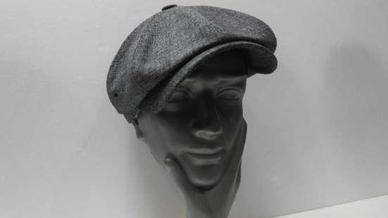Гаврош восьми клинка кепка мужская (серая)