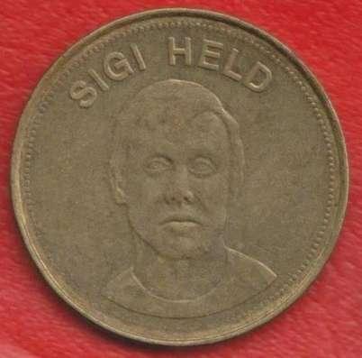 Жетон Shell Шелл Хельд футбол Traum-elf 1969