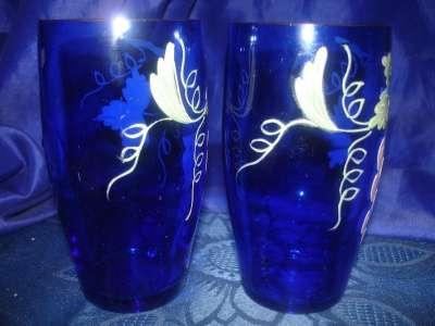 пара старинных стаканов с ручной роспись в Санкт-Петербурге Фото 3