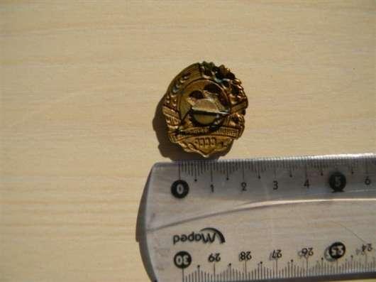 Значок. Юный натуралист СССР латунь, горяч. эмаль в г. Ереван Фото 1