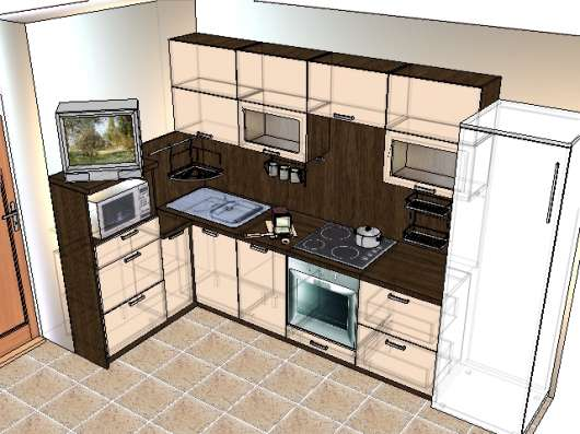 Кухни в Екатеринбурге Фото 1