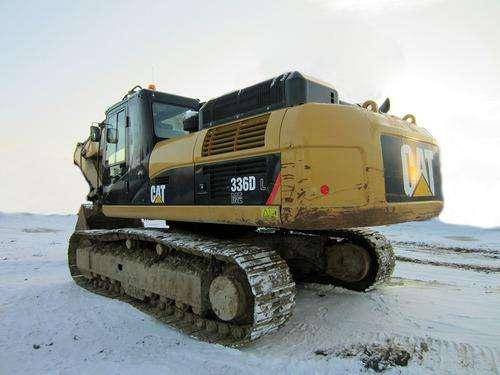 Гусеничный экскаватор CAT 336, 2012 г, 35 тонн, 3400 м/ч в Санкт-Петербурге Фото 3