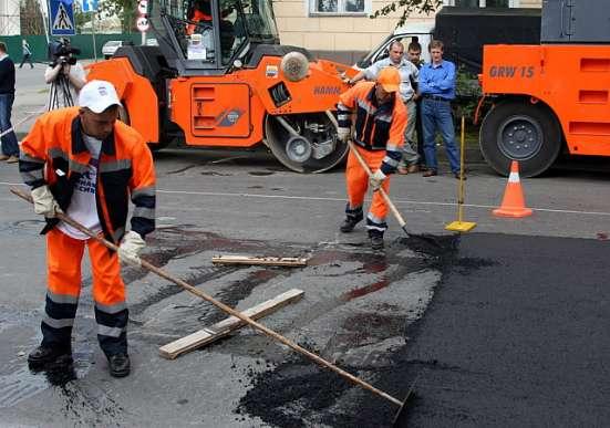 Требуются дорожные рабочие