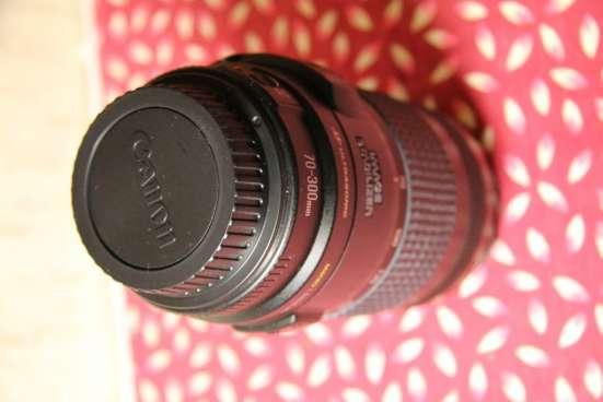 Продам фотообъектив Canon EF 70-300 mm f/4-5.6 IS USM в Воронеже Фото 4