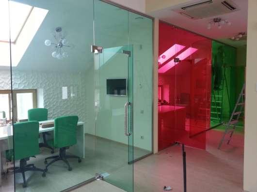 Стеклянные, каркасные, офисные перегородки в Казани Фото 3