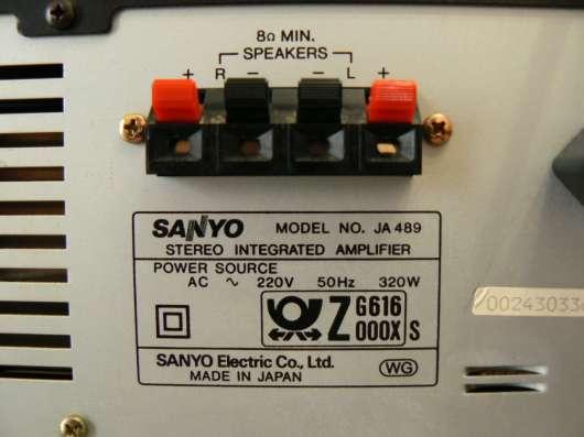 Усилитель Sanyo JA 489 / JT 489L / CP489