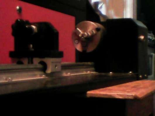 Четвертая ось для лазерного гравировального станка