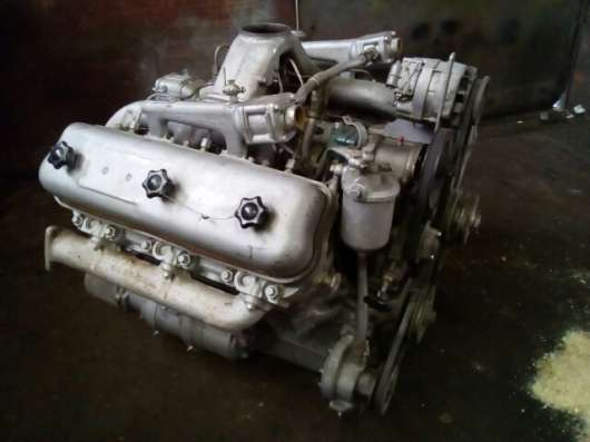 Дизельный двигатель ЯМЗ-236