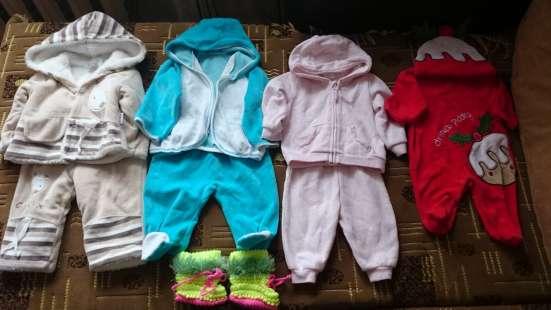 Одежда на девочку 0-6 месяцев