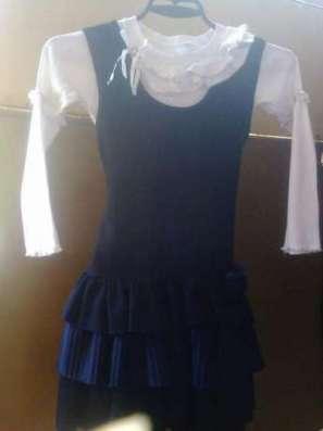 Сарафан з блузою для школи