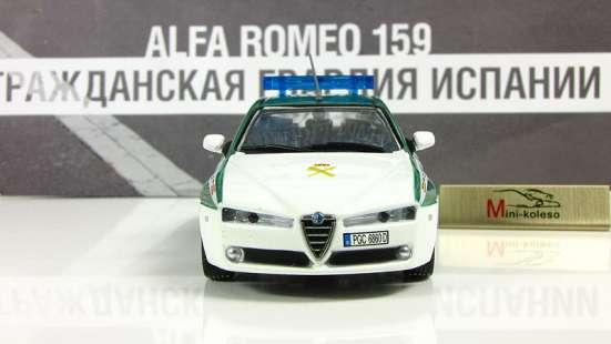 полицейские машины мира №43 ALFA ROMEO 159 в Липецке Фото 4