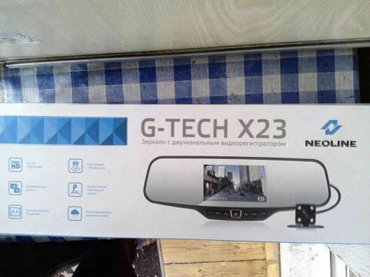 Видеорегистратор зеркало G-TECH X23 NEOLINE в Москве Фото 1