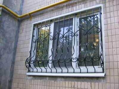 Решётки на окна любой формы под заказ