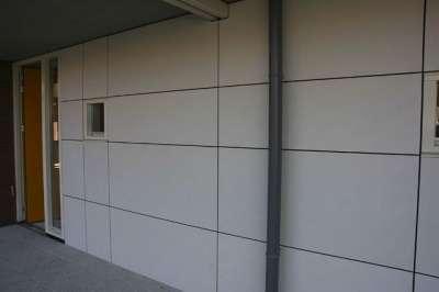Окрашенные стеновые панели с акрилатным
