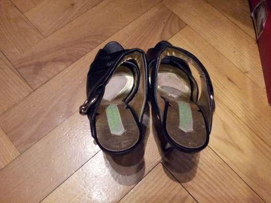 Guillaume Hinfray босоножки черные новые 37р Редкость