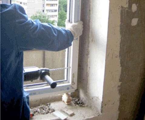Монтаж окон и дверей в Сочи