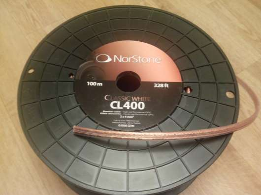 Акустический кабель 4 мм2 NorStone CL400 медь в Волгограде Фото 2