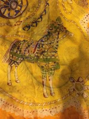 Hermes шелковый платок в Москве Фото 1