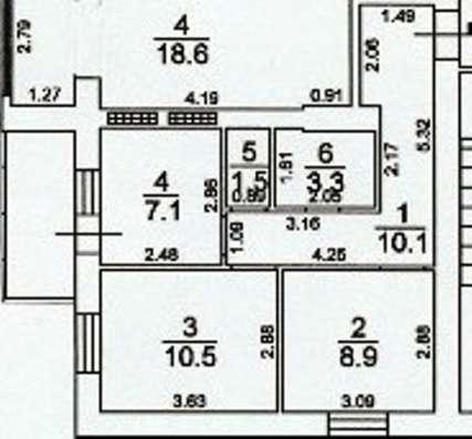 Продам уютную квартиру в кирпичном доме в г. Одесса Фото 1