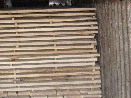 Сухая доска обрезная 30 мм, дуб