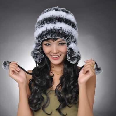 """Женская меховая шапка - ушанка """"Земфира"""""""