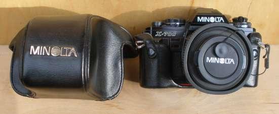 Пленочный зеркальный фотоаппарат Minolta X-700