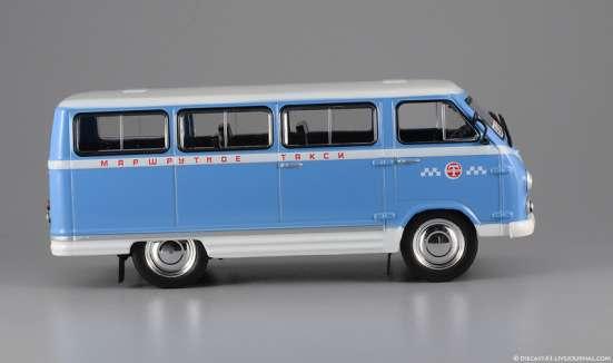 автомобиль на службе №28 Раф-977 ДМ, Маршрутное такси