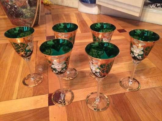Продаю богемскую посуду из чешского стекла в Краснодаре Фото 2