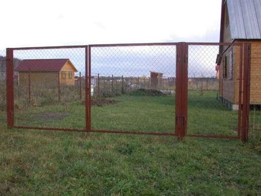 Ворота и Калитки. С бесплат. доставкой