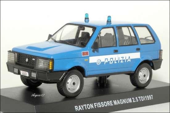 полицейские машины мира спец.выпуск №2 RAYTON FISSORE MAGNUM